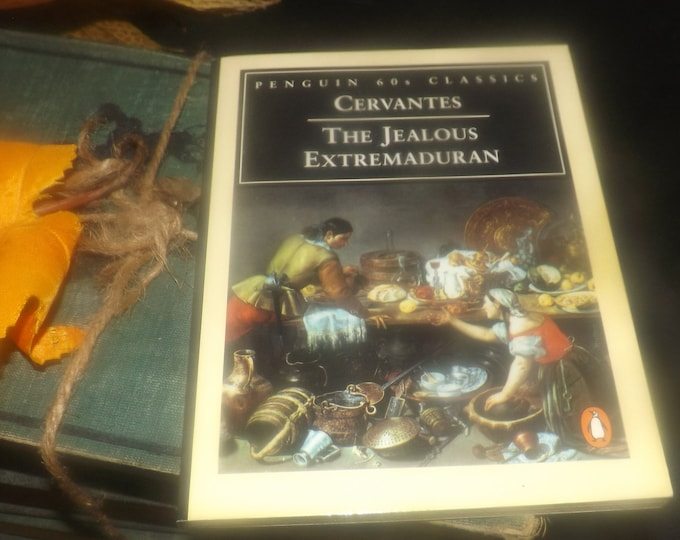Vintage (1995) paperback mini book Cervantes The Jealous Extremaduran. Penguin 60s Classics. Cervantes Exemplary Novels.