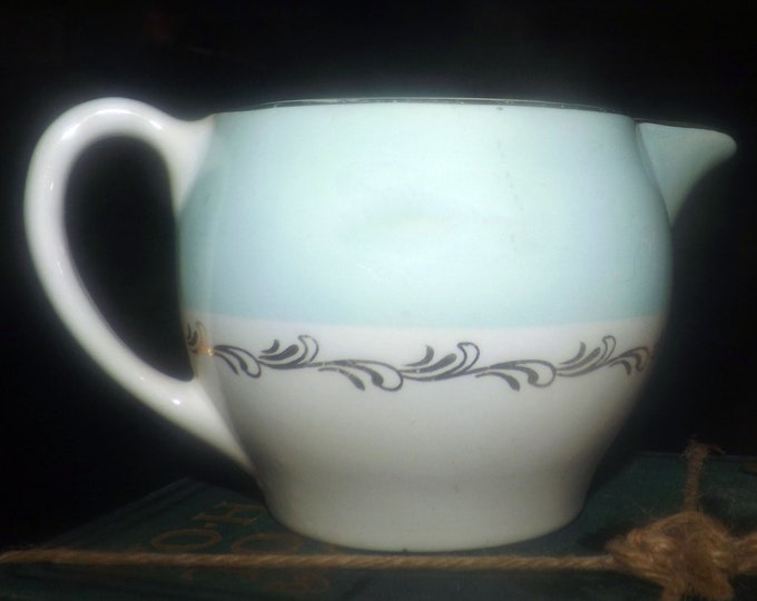 Mid-century Johnson Brothers JB917 hand-decorated creamer or milk jug made in England.