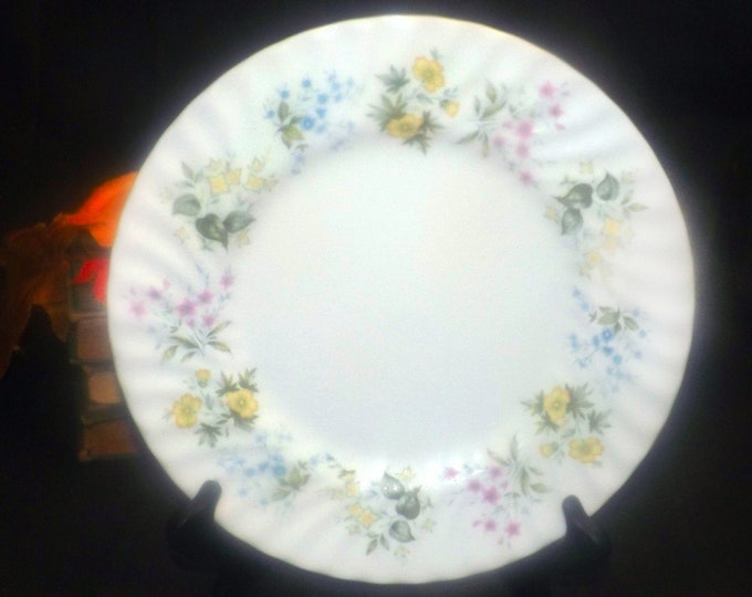 Minton Spring Valley large dinner plate made in England during the early 1970s - 1980s.