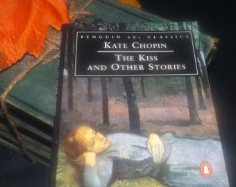 Vintage (1995) paperback mini book Kate Chopin The Kiss and Other Stories. Penguin 60s Classics.