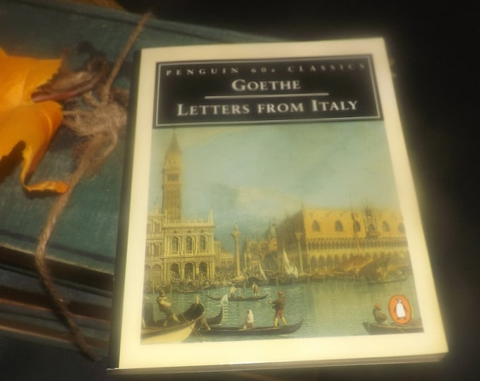 Vintage (1995) paperback mini book Johann Wolfgang von Goethe Letters from Italy. Penguin 60s Classics.