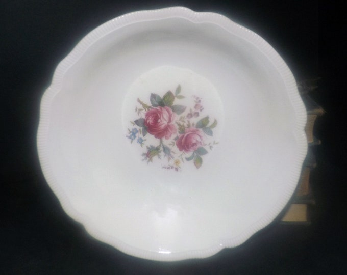 Antique (1910s) Johnson Brothers JB339 cereal, soup, salad bowl. Art nouveau tableware made in England. Sold individually.