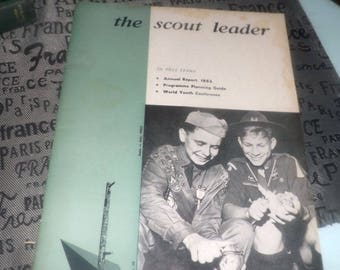 Vintage (June-July, 1963) The Scout Leader Magazine. Volume 40, No. 10. Complete.