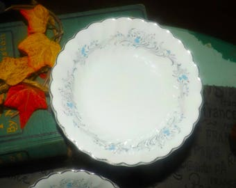 Vintage (1960s) Sovereign Potters Charmian R110-62 fruit nappie, dessert, berry bowl. Sold individually.