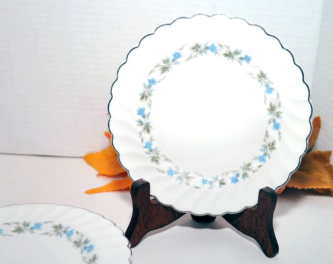 Mid-century Johnson Brothers JB482   Sovereign Potters Morning Glory bread, dessert, side plate. Sold individually.