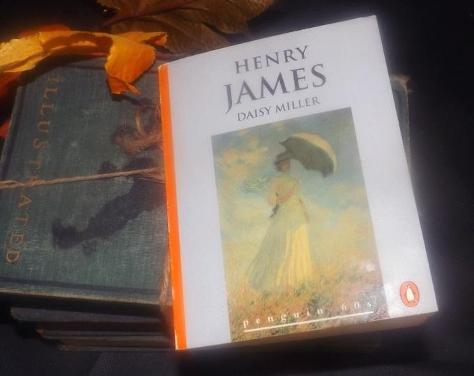 Vintage (1995) paperback mini book Henry James Daisy Miller. Penguin 60s Classics.