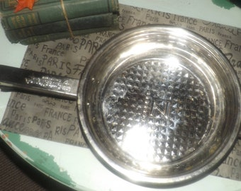 Vintage (early 1990s) Swiss Home Zurich Zline induction boden high-grade, heavy, stainless steel fry pan | skillet.