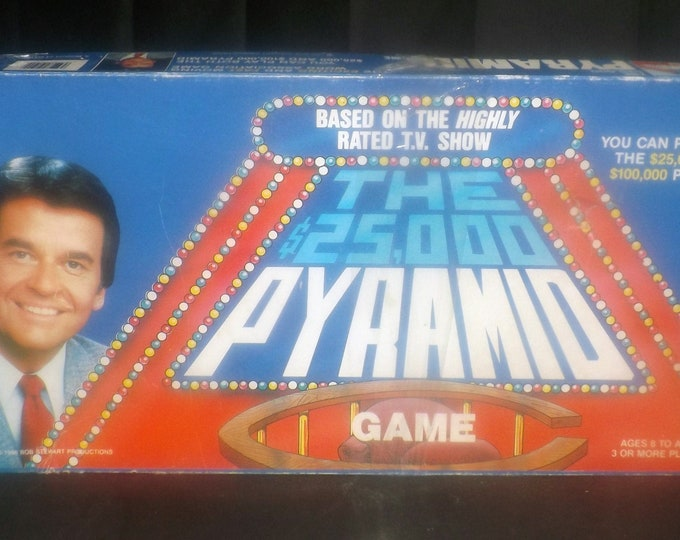 Vintage (1986) The 25,000 Pyramid | 100,000 Pyramid board game. Cardinal Games. Almost complete (see details below).