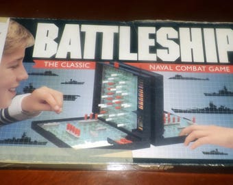 Vintage (1990) Battleship board game published in Canada by Milton Bradley.  Complete with instructions.