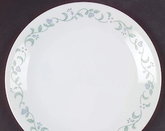 Set of Corelle Country Cottage bread, dessert, side plates made in the USA. Available as a set of three or set of four.