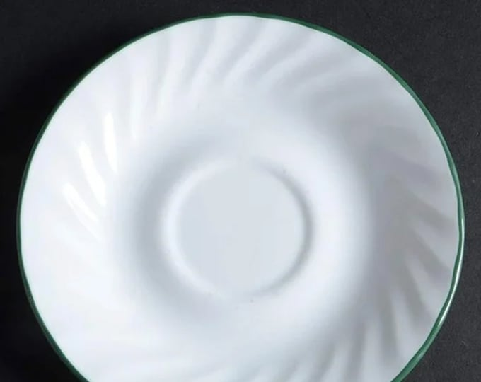 Corelle Corningware Callaway orphan saucer only (no cup). Made in USA.