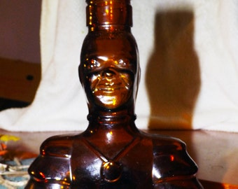 Vintage Old Oak Rum PROTOTYPE unbranded collectible bottle manufactured by Angostura, Trinidad.