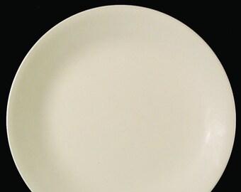 Corelle | Corning USA | Corningware Sandstone all-beige salad or side plate. Discontinued 2010.