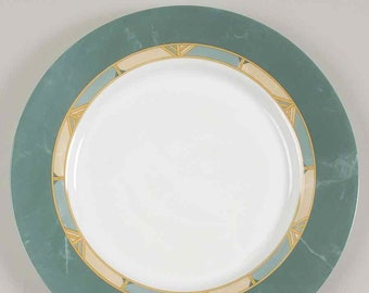 Vintage (1996) Arcopal France Cortina pattern large dinner plate.