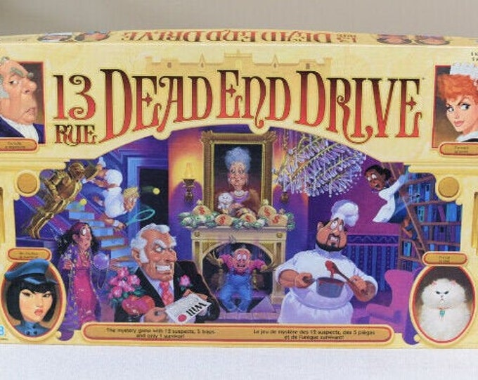 Vintage (1993) 13 Dead End Drive 3D board game. Complete.
