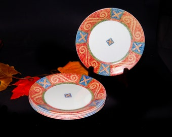 Vintage (1998) Corelle   Corning   Corning Ware Sand Art salad or side plate made in the USA. Sold individually.