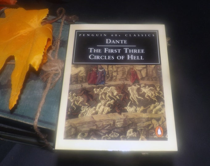Vintage (1995) paperback mini book Dante: First Three Circles of Hell. Cantos I-VI. The Inferno. Penguin 60s Classics.