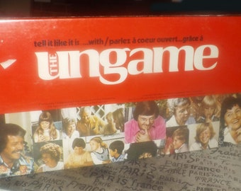 Vintage (1975) The UNgame board game published in Canada by Parker Brothers. Made in USA. Non-competitive family game. Sealed package.
