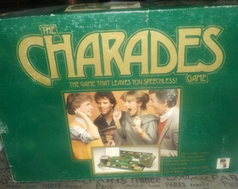 Vintage (1984) Charades board game by Playtoy Games Ltd.  Complete.