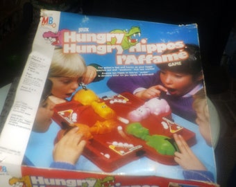 WAIT-LISTED! coming soon Vintage (1978) Hungry Hungry Hippos board game published by Milton Bradley. Complete.
