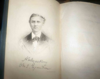 Antique (1890) first-edition book Mackay of Uganda: Alexander Mackay Pioneer Missionary Church Missionary Society to Uganda. Complete.