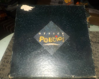 Vintage (1988) and hard to find Office Politics Board Game. Try not to get fired. Canadian distribution only. Complete.