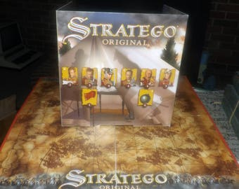 Vintage (1995) Stratego Original board game published and made in The Netherlands bu Jumbo Games. Complete.