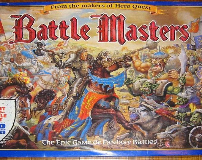 Battle Masters board game by Milton Bradley. Near complete (see details below).