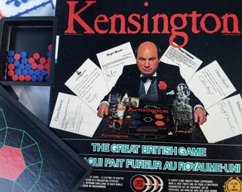 Vintage (1984) Kensington board game published by Whale Toys | Canada Games. Complete.