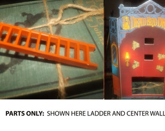 Vintage (1993) PARTS ONLY for 13 Dead End Drive 3D pop-up board game published by Milton Bradley. This is for parts only.