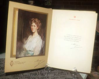 "Antique (1914) Princess Mary's Gift Book published by Hodder & Stoughton.  Proceeds to Queen's ""Work for Women"" Fund."