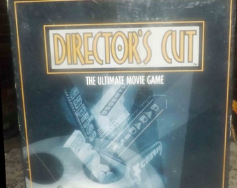 Vintage (1996) Director's Cut The Ultimate Movie Game board game published by boutique Canadian game house Hardy & Powell. Complete.
