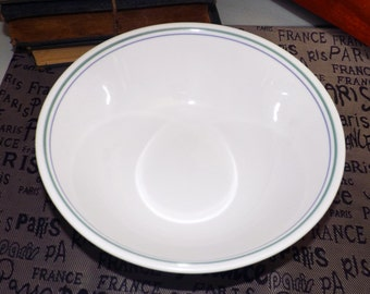 Corelle Country Cottage round vegetable serving bowl. Vintage Corningware made in the USA.