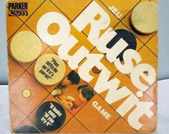 Vintage (1978) Outwit board game published by Parker Brothers. Complete.