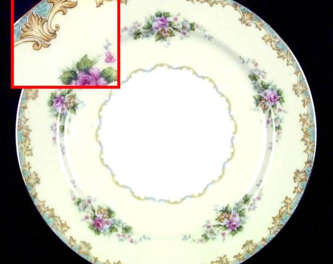 Quite vintage (early 1930s) Noritake | Morimura | Nippon Adela pattern dinner plate.