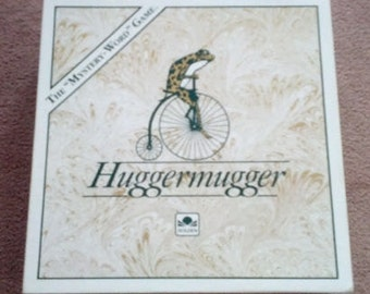 Vintage (1989) Huggermugger Mystery Word Game published by Golden | Western. Like-new condition.  Complete