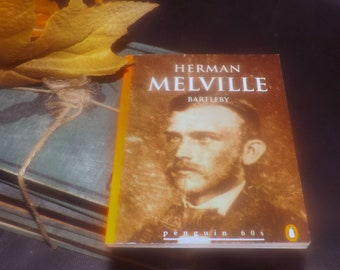 Vintage (1995) paperback mini book Herman Melville Bartleby, The Lightning-rod Man. Penguin 60s Classics.