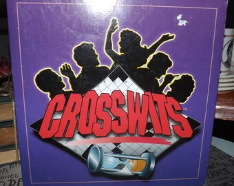 Vintage (1996) Crosswits board game based on the TV game show of the same name. Complete.