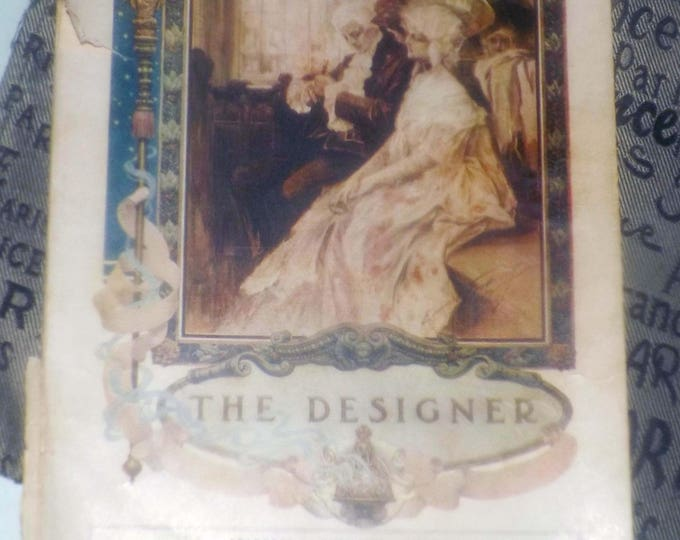 Antique (December, 1907) Vol XXVII No. 2 The Designer Fashion Magazine published by Standard Fashion Co. New York | Toronto.