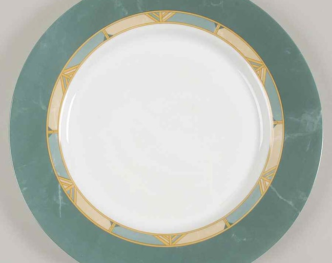 Vintage (1996) Arcopal France Cortina pattern large dinner plate, service plate, charger.