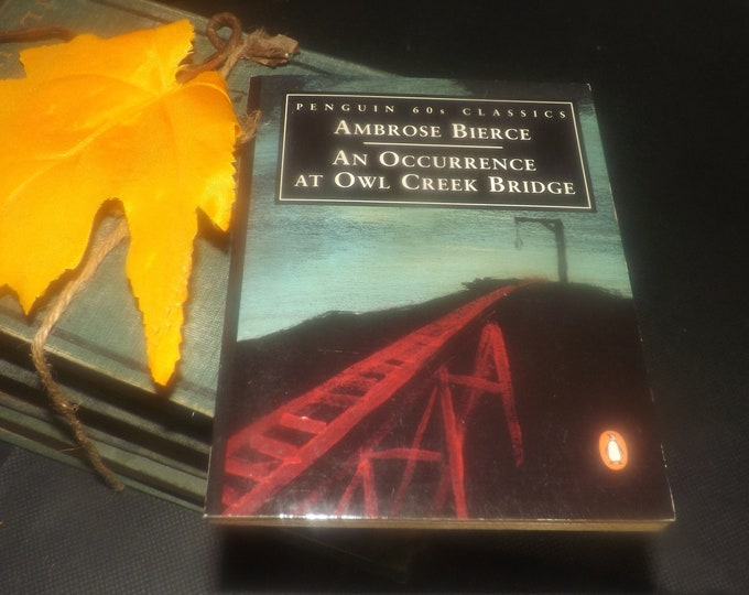 Vintage (1995) paperback mini book An Occurrence at Owl Creek Bridge and other stories. Ambrose Bierce. Penguin 60s Classics.