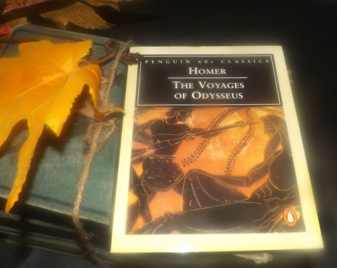 Vintage (1995) paperback mini book Homer Odyssey: The Voyages of Odysseus. Penguin 60s Classics.