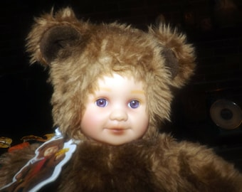 """Vintage (1997) Anne Geddes 14"""" stuffed 