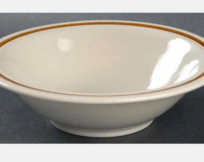Vintage (1970s) Mikasa Artisan KA100 stoneware bowl. Choice of cereal or dessert size. Made in Japan.