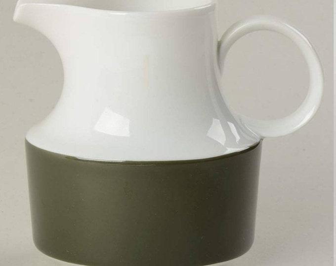 Vintage (1967) Rosenthal Olive pattern creamer or sugar bowl lid only (no bowl). Rosenthal Continental.