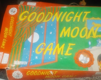 Vintage (1997) Goodnight Moon matching board game for toddlers | little ones | younger kids.  Briarpatch Games. Incomplete (see below).