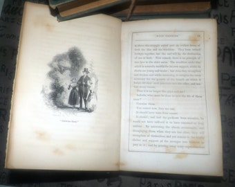 Antique (1850) hardcover first-edition book The Commandment with Promise by Christian author Eliza Cheap. Robert Carter Brothers, NY USA.