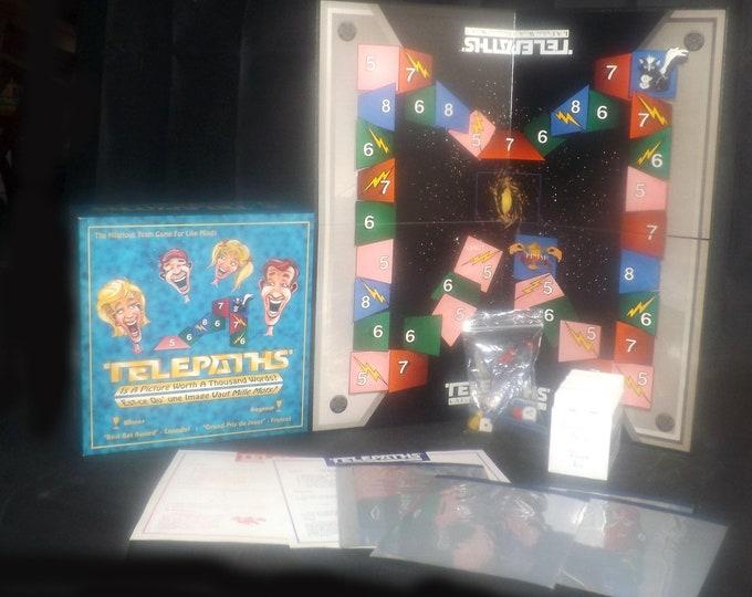 Vintage (1994) Telepaths board game. Brainstorm Games. Complete.