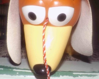 Vintage (1995) first-edition Disney Toy Story Daschund slinky dog | toy. Floppy, leatherette ears. Hard to find!