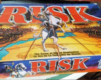 Vintage (1993) Risk Board Game published by Hasbro and Parker Brothers. Complete.